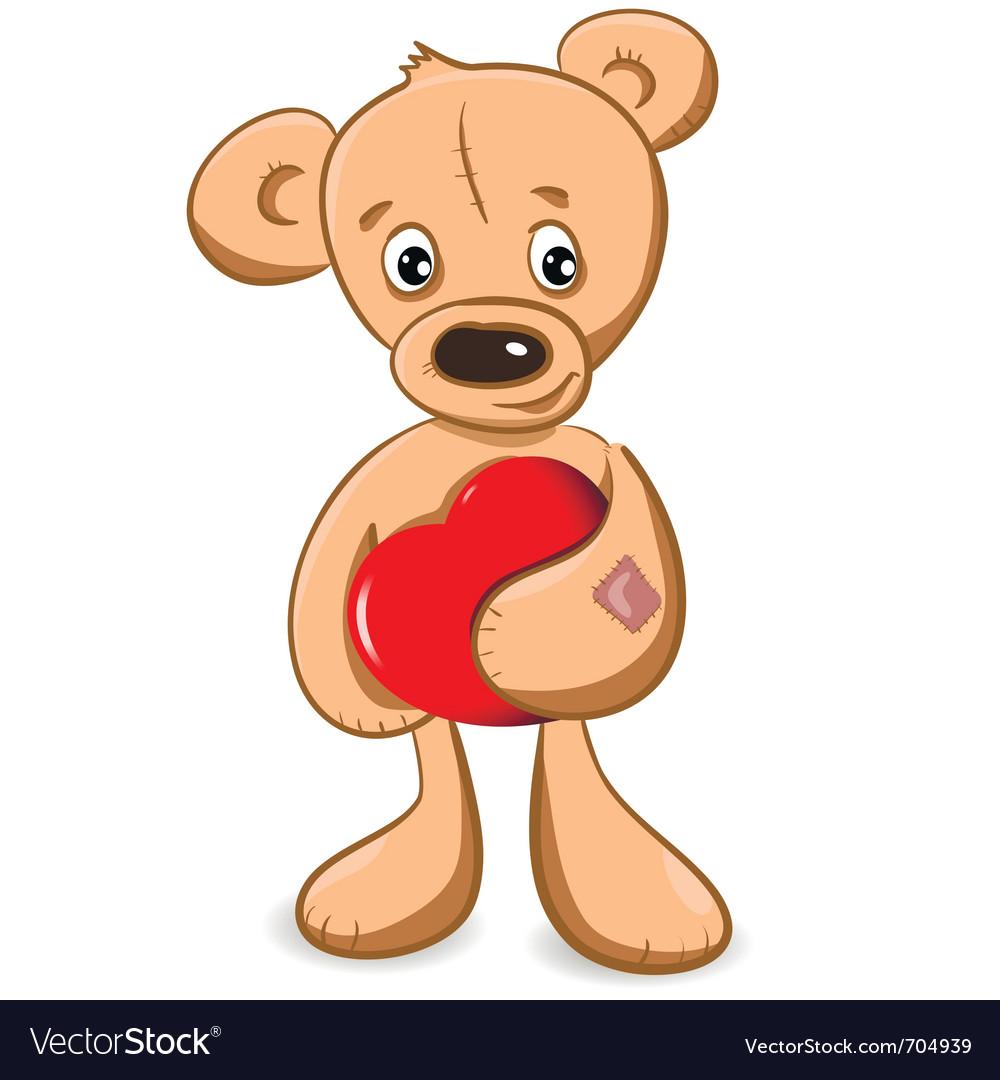 Teddy bear vector | Price: 3 Credit (USD $3)