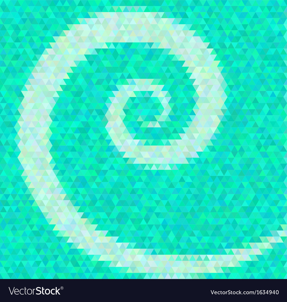 Abstract background polygin style inlay spiral vector | Price: 1 Credit (USD $1)