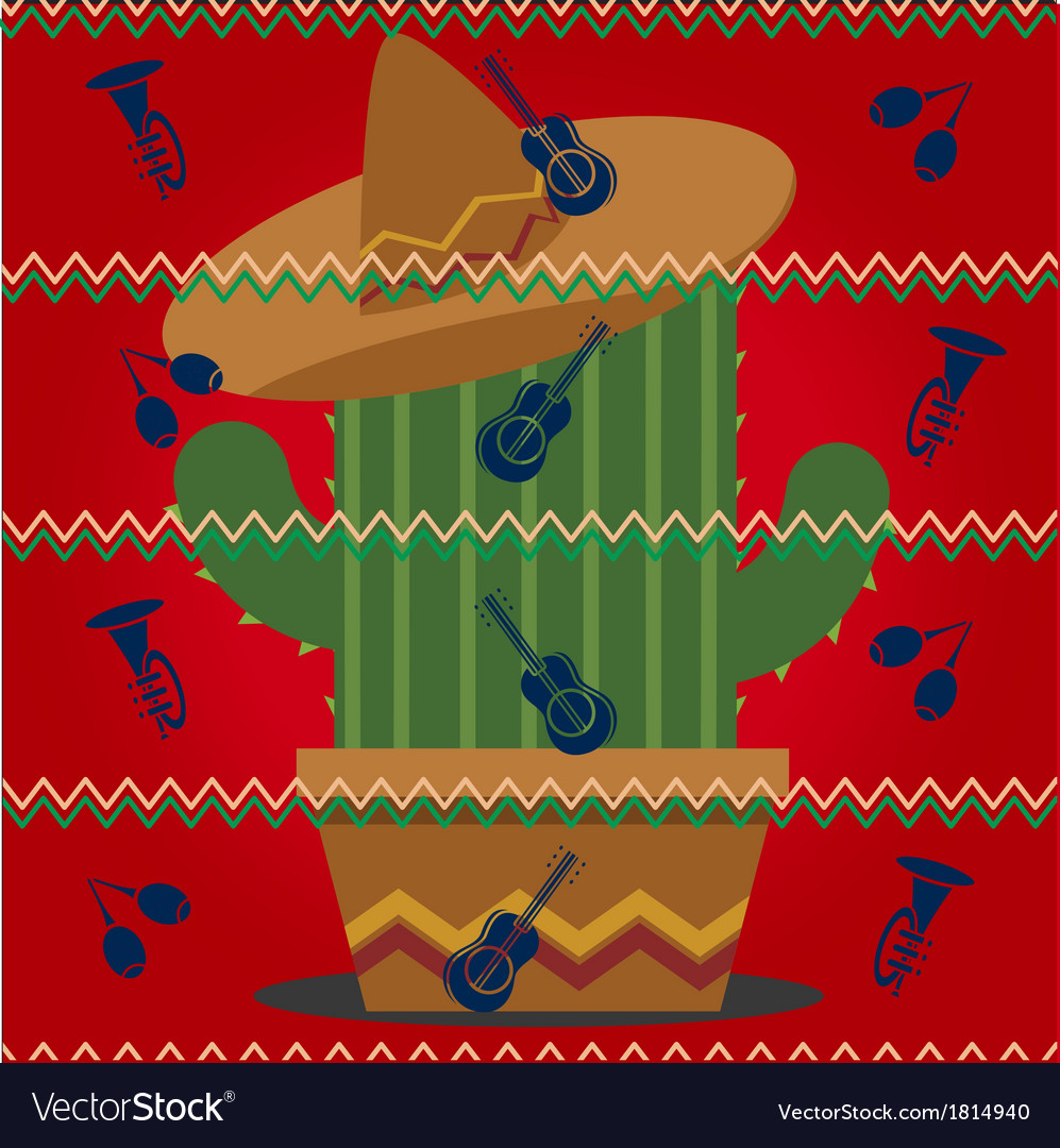 Mexican pattern vector | Price: 1 Credit (USD $1)