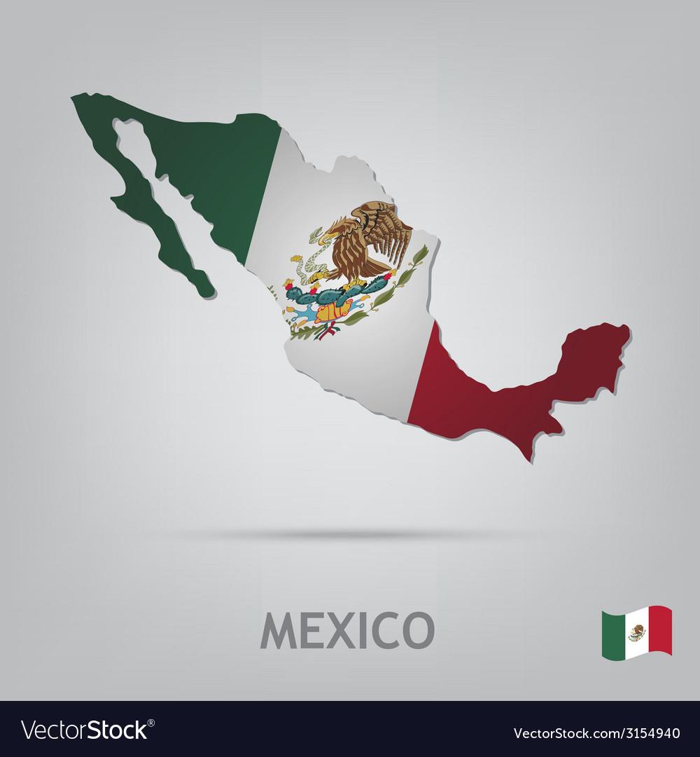 Mexico vector | Price: 1 Credit (USD $1)