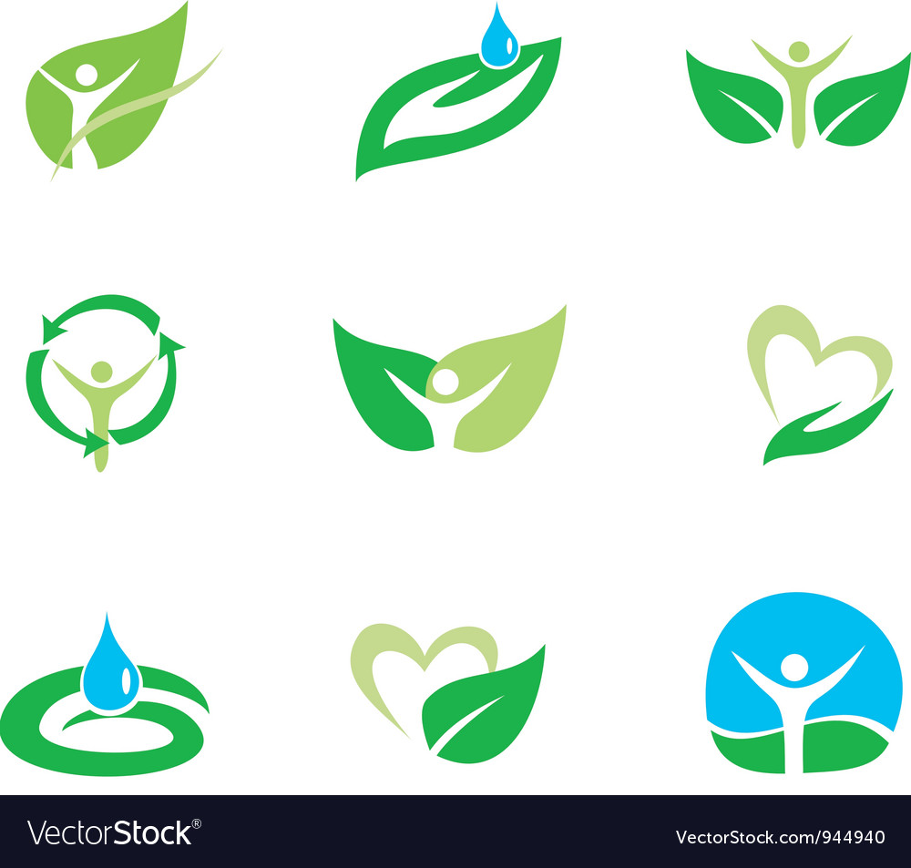 Organic set vector | Price: 1 Credit (USD $1)