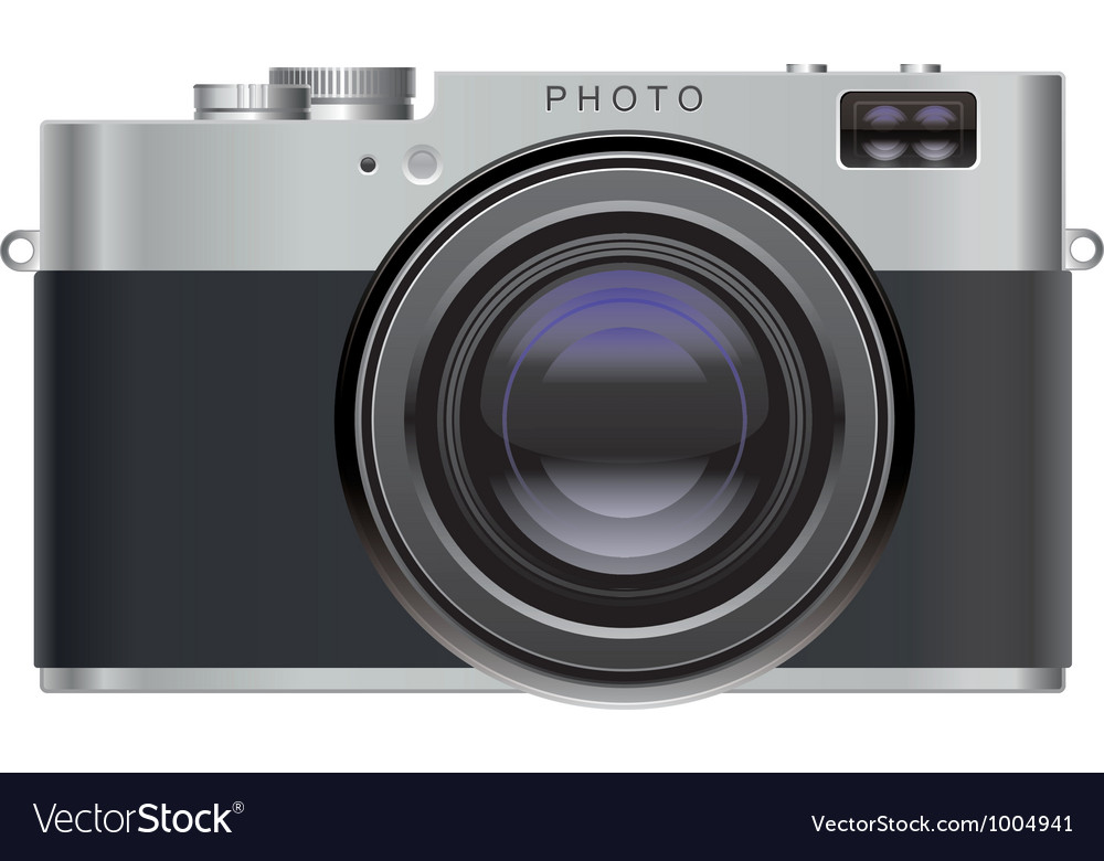 Retro photo camera vector | Price: 5 Credit (USD $5)
