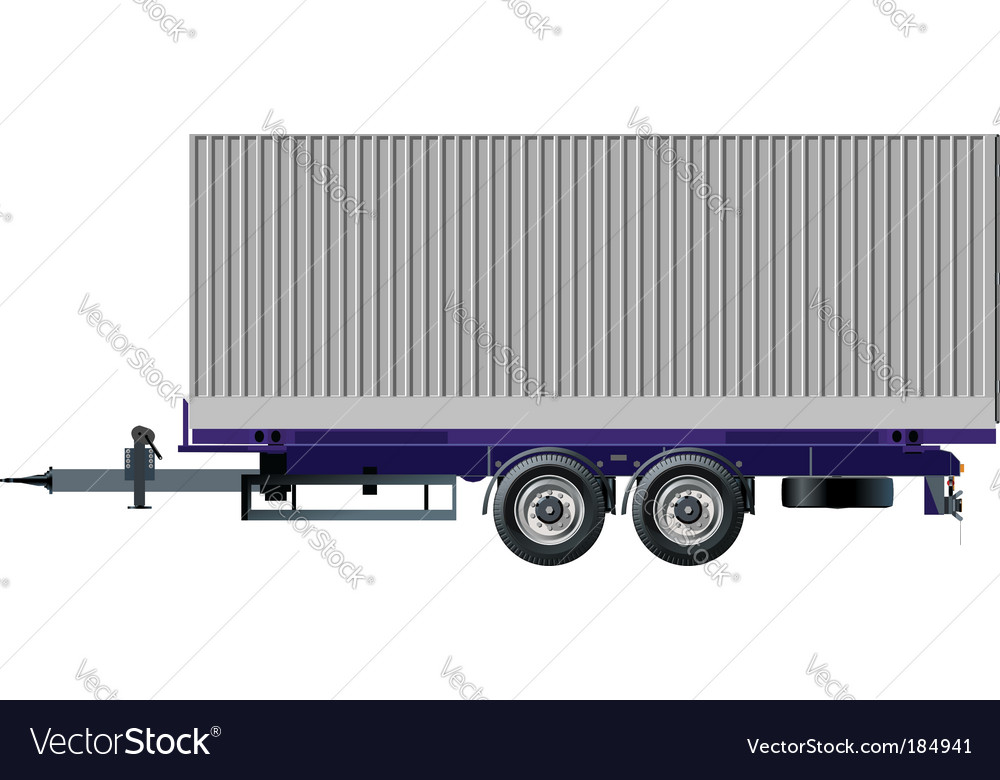 Trailer vector | Price: 3 Credit (USD $3)