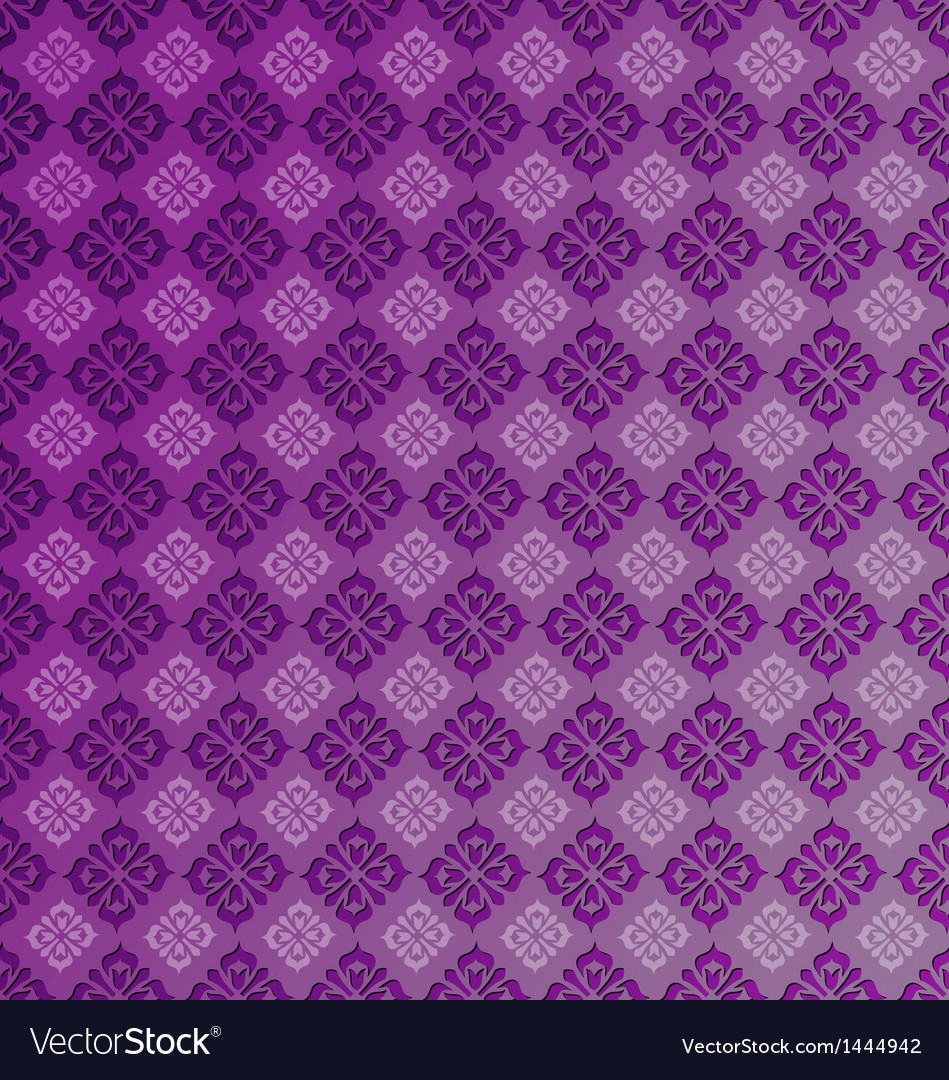 Seamless vintage pattern tile vector | Price: 1 Credit (USD $1)