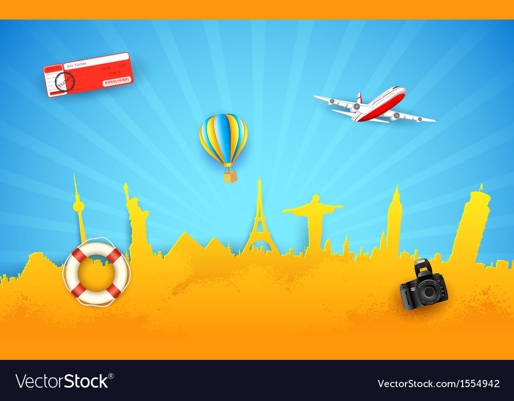 Tour and travel vector | Price: 1 Credit (USD $1)