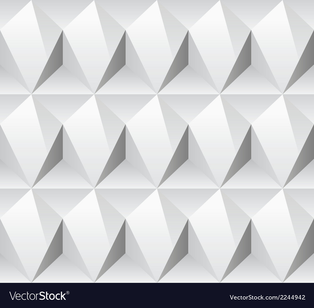 White rhombus concept seamless texture vector | Price: 1 Credit (USD $1)