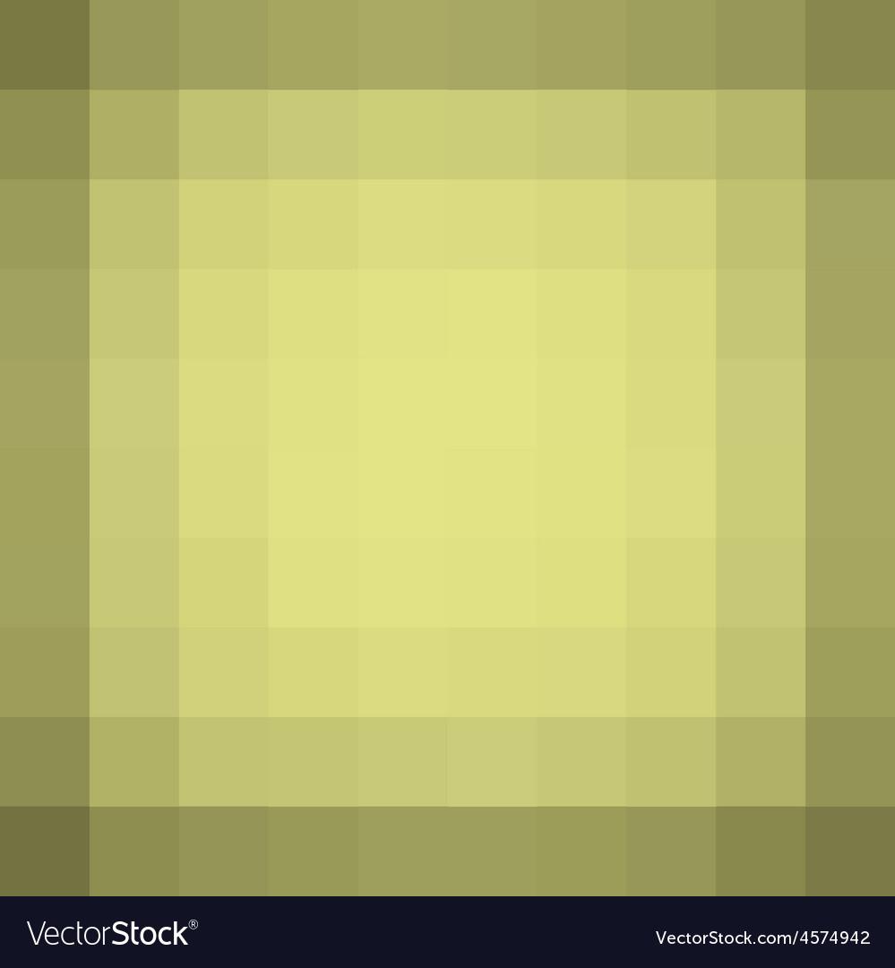 Yellow square pixel gradient grunge light effect vector | Price: 1 Credit (USD $1)