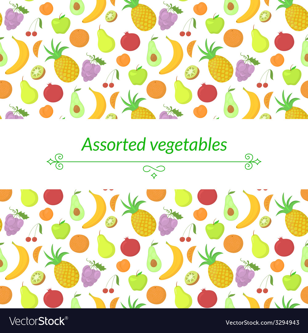 Fruit background vector | Price: 1 Credit (USD $1)