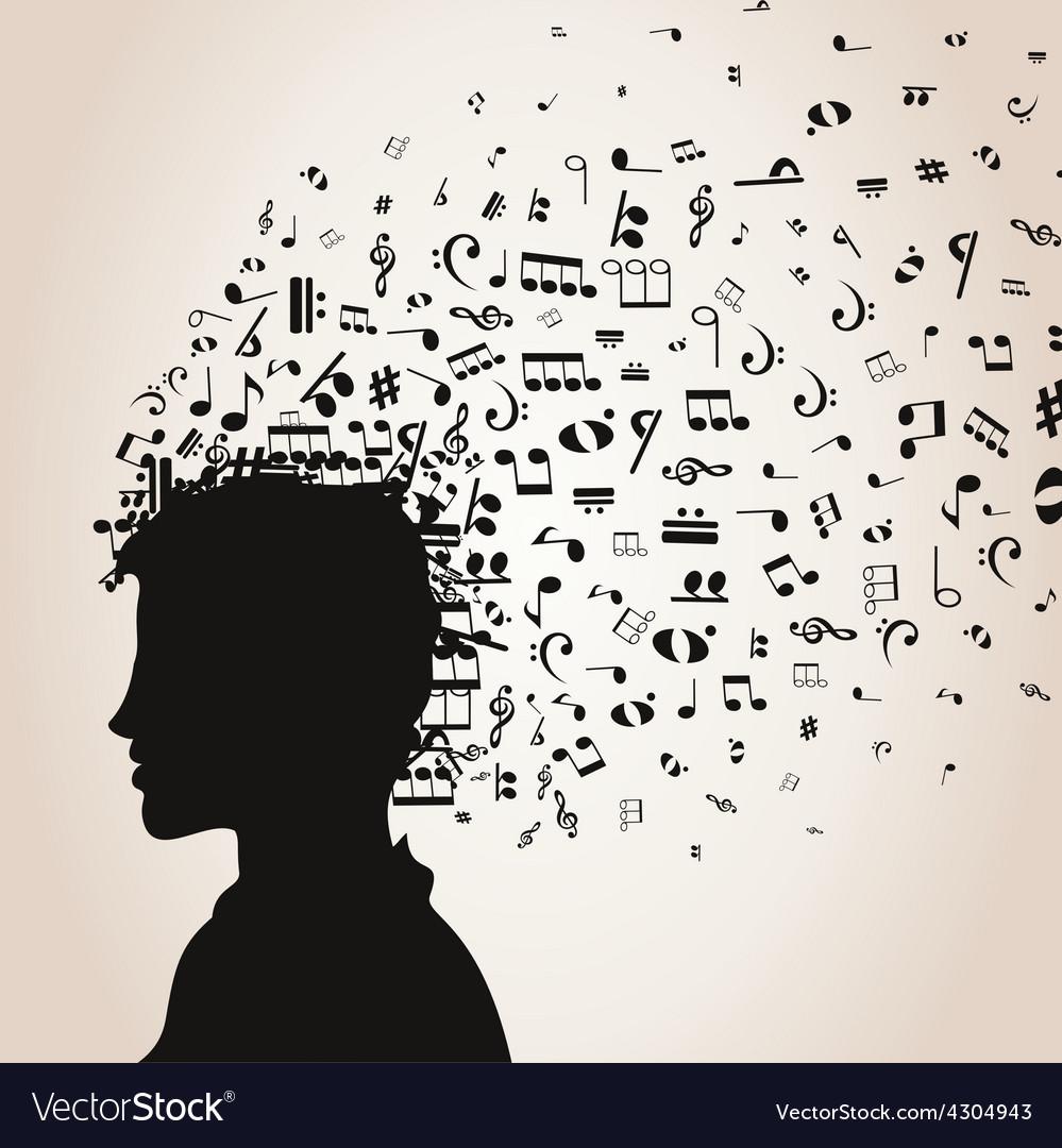 Musical man vector | Price: 1 Credit (USD $1)