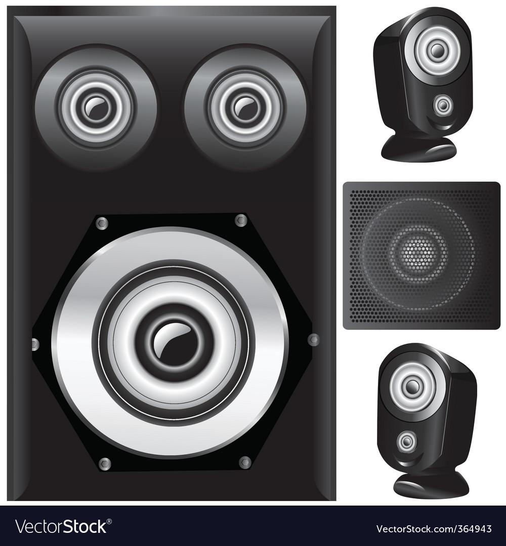 Set of speaker vector   Price: 1 Credit (USD $1)