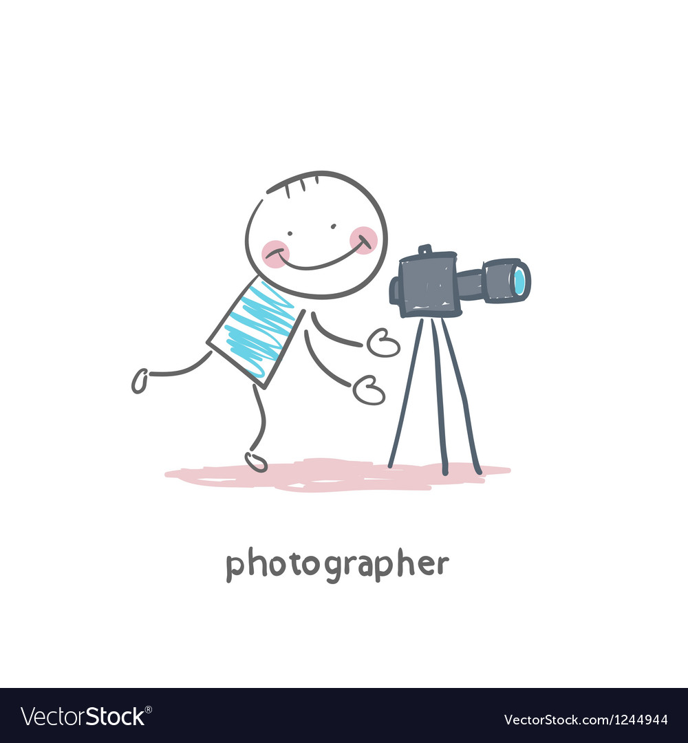 Photographer vector | Price: 1 Credit (USD $1)