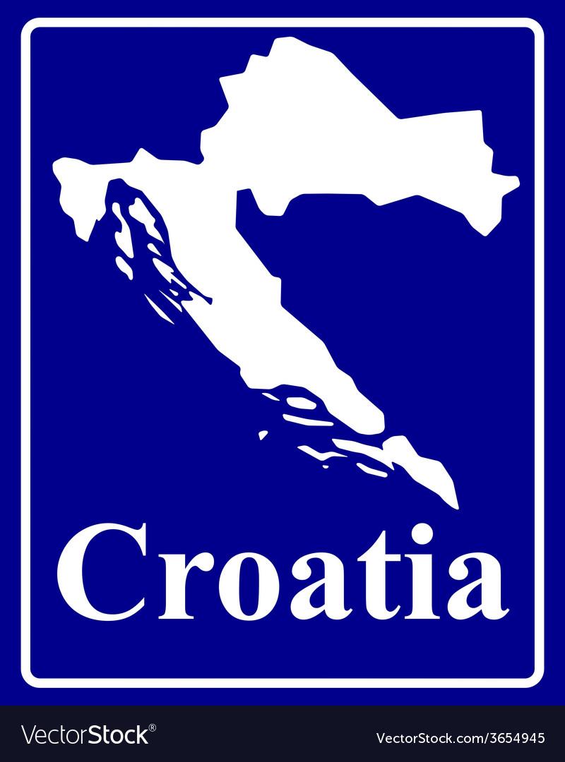 Croatia vector | Price: 1 Credit (USD $1)