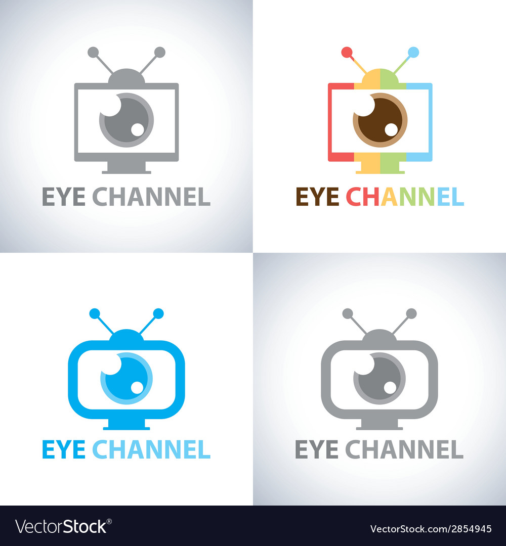 Eye channel vector | Price: 1 Credit (USD $1)