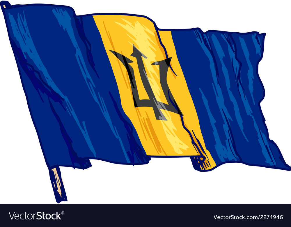 Barbados vector | Price: 1 Credit (USD $1)