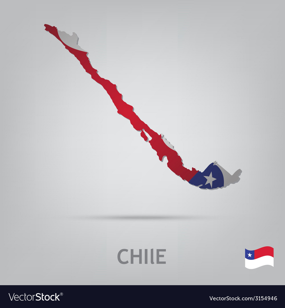Country chile vector | Price: 1 Credit (USD $1)