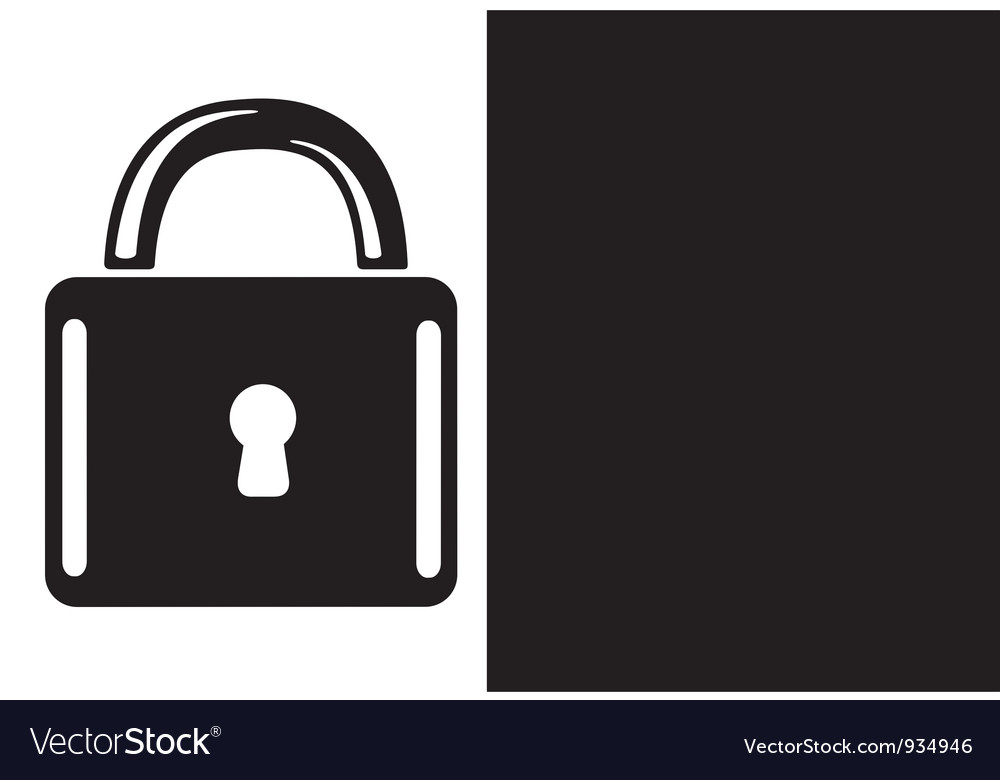 Lock vector | Price: 1 Credit (USD $1)