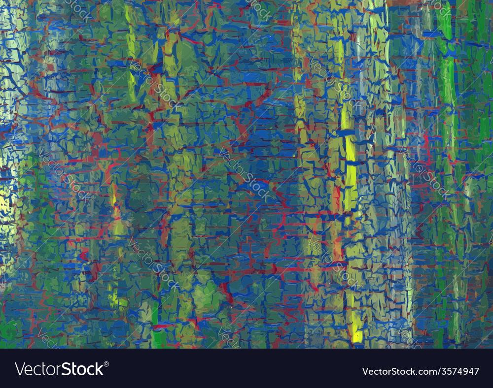 Acrylic craquelure background vector | Price: 1 Credit (USD $1)