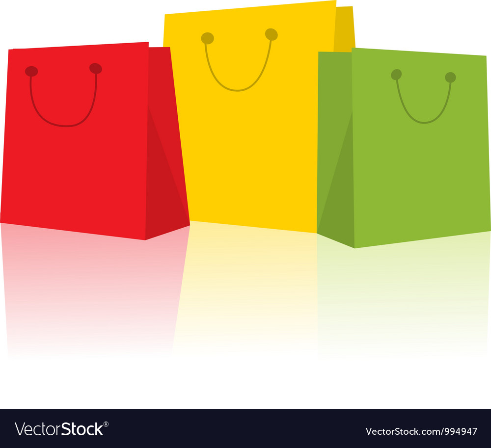 Happy shopping vector | Price: 1 Credit (USD $1)