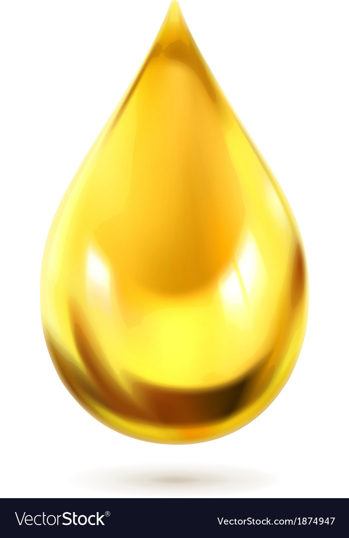 Oil drop icon vector | Price: 1 Credit (USD $1)
