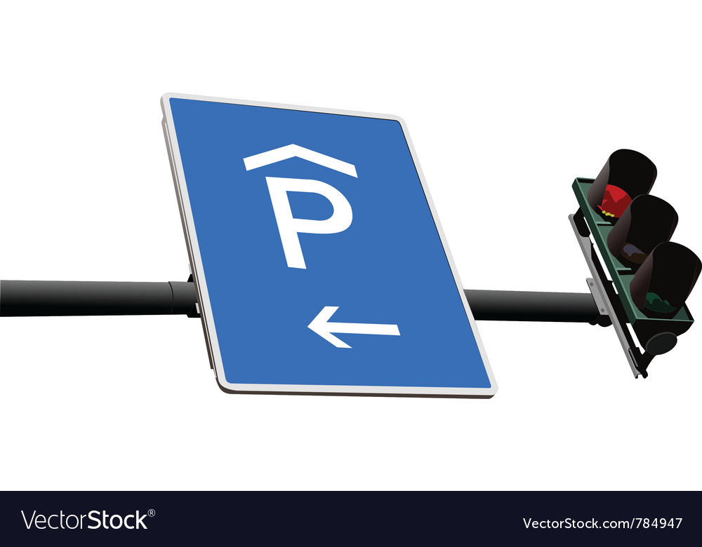 Street sign vector | Price: 1 Credit (USD $1)