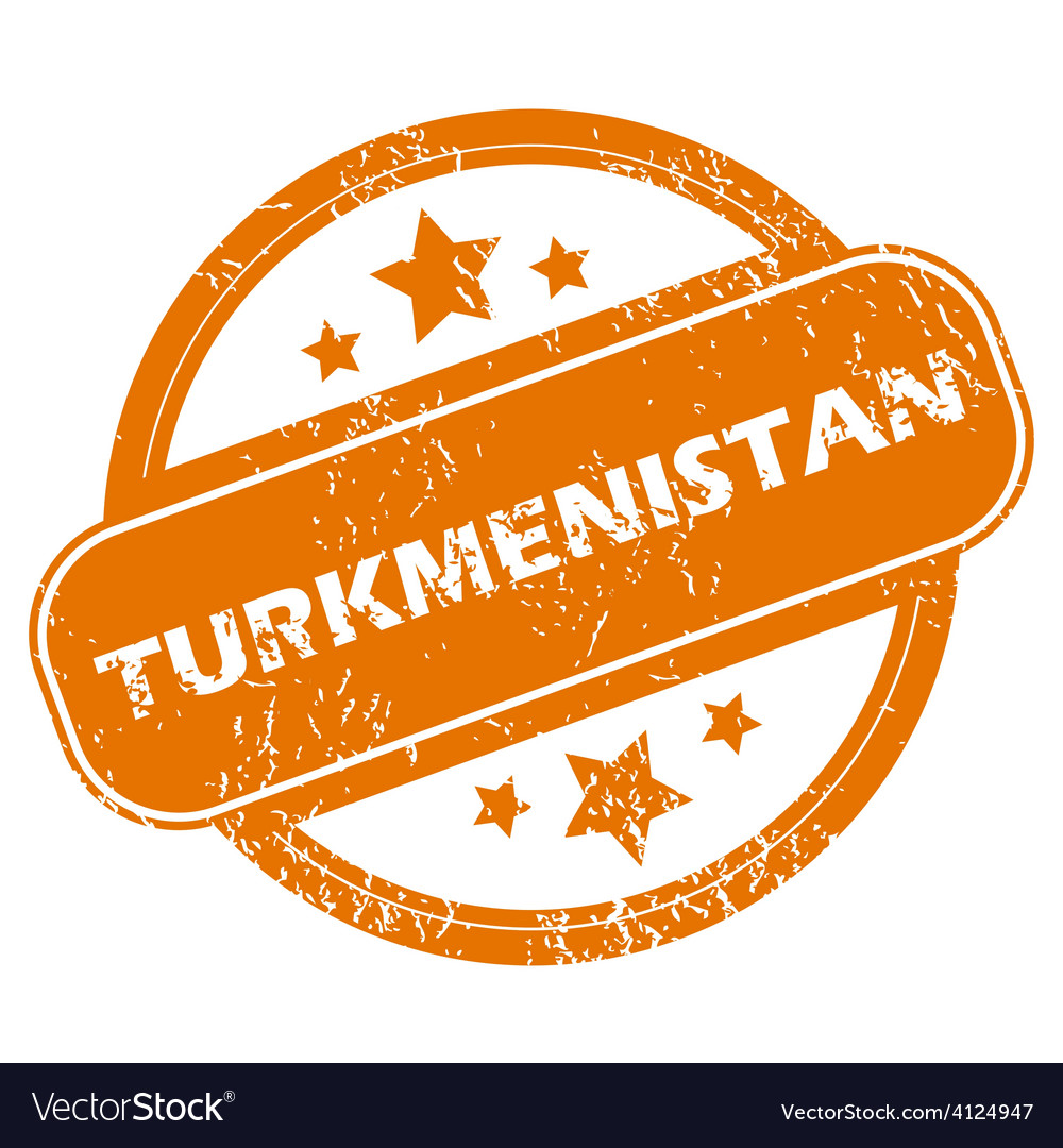 Turkmenistan grunge icon vector | Price: 1 Credit (USD $1)