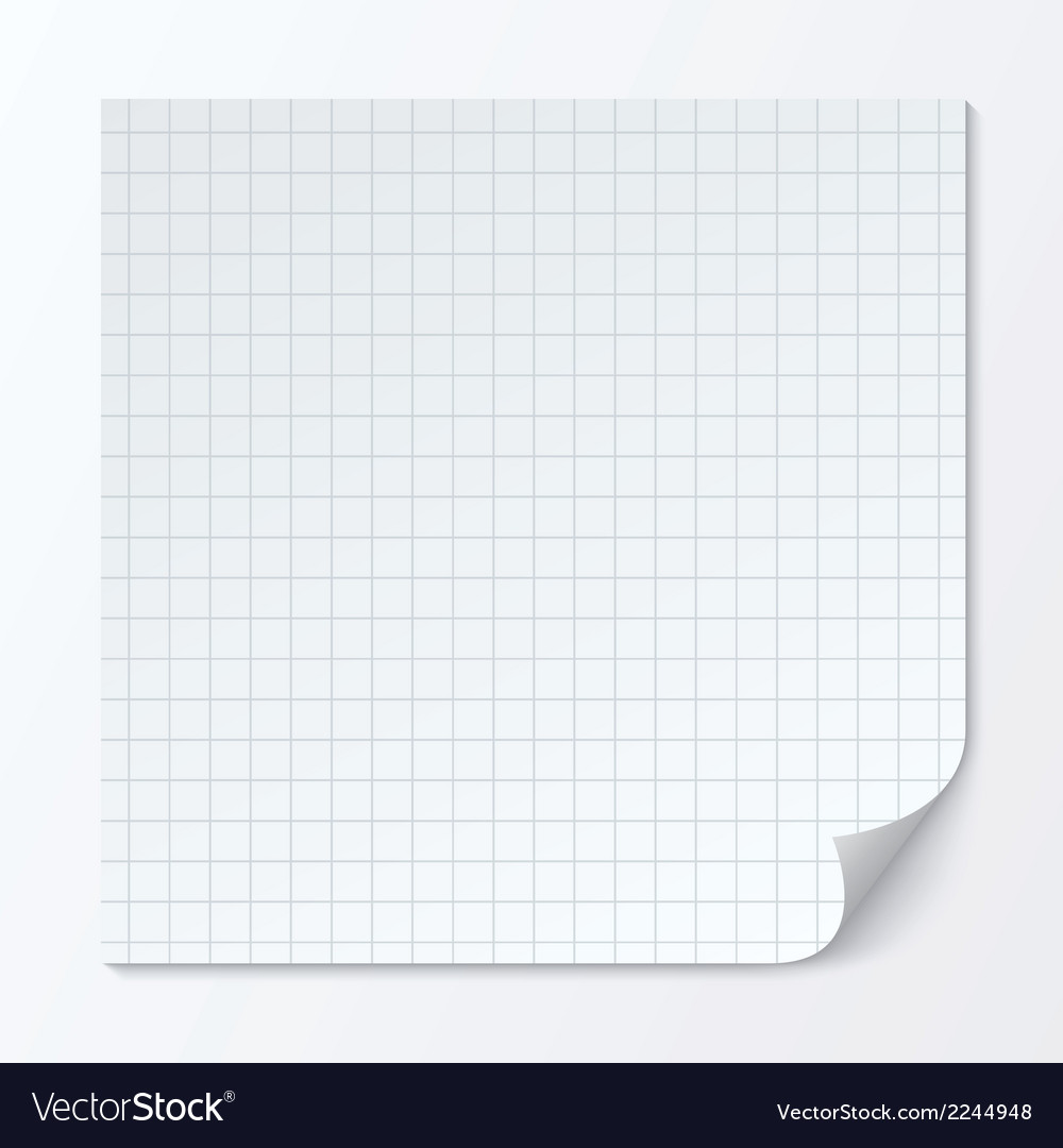 Cell page sheet sheet of graph paper grid texture vector | Price: 1 Credit (USD $1)