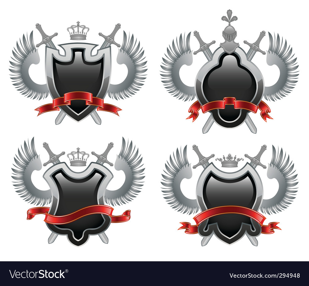 Coat of arms shield vector   Price: 1 Credit (USD $1)
