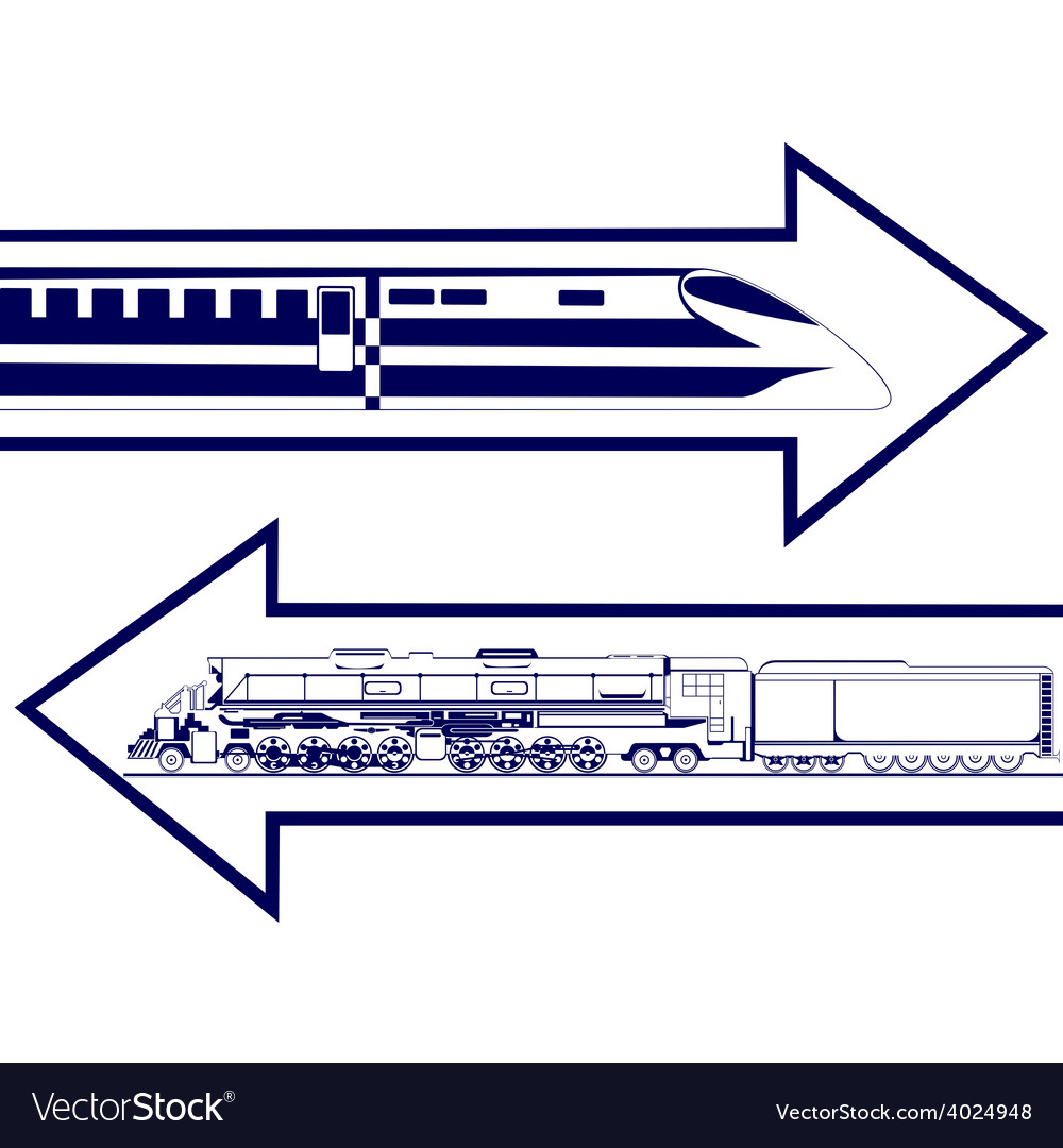 Railway transport vector | Price: 1 Credit (USD $1)