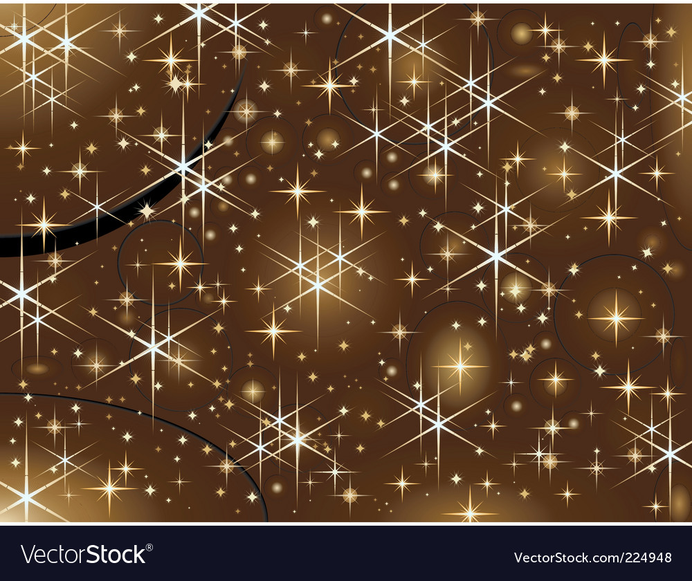 Shiny christmas stars vector | Price: 1 Credit (USD $1)