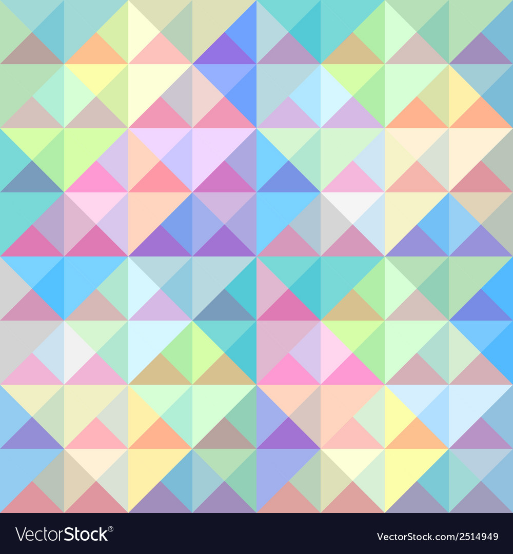 Colorful triangle background5 vector | Price: 1 Credit (USD $1)