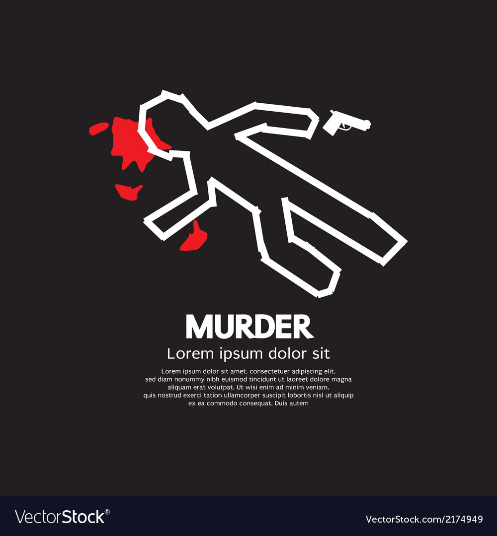 Murder vector | Price: 1 Credit (USD $1)