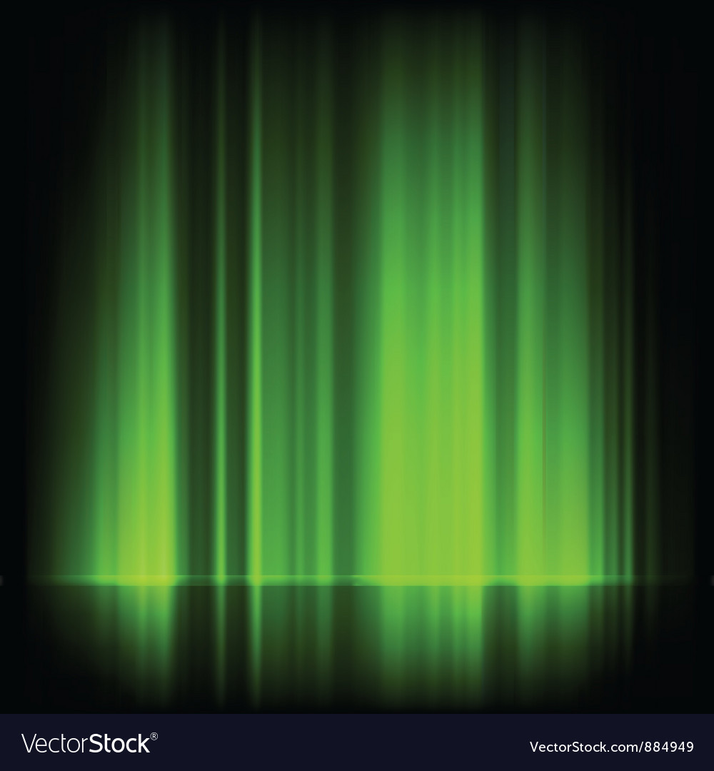 Northern lights vector | Price: 1 Credit (USD $1)