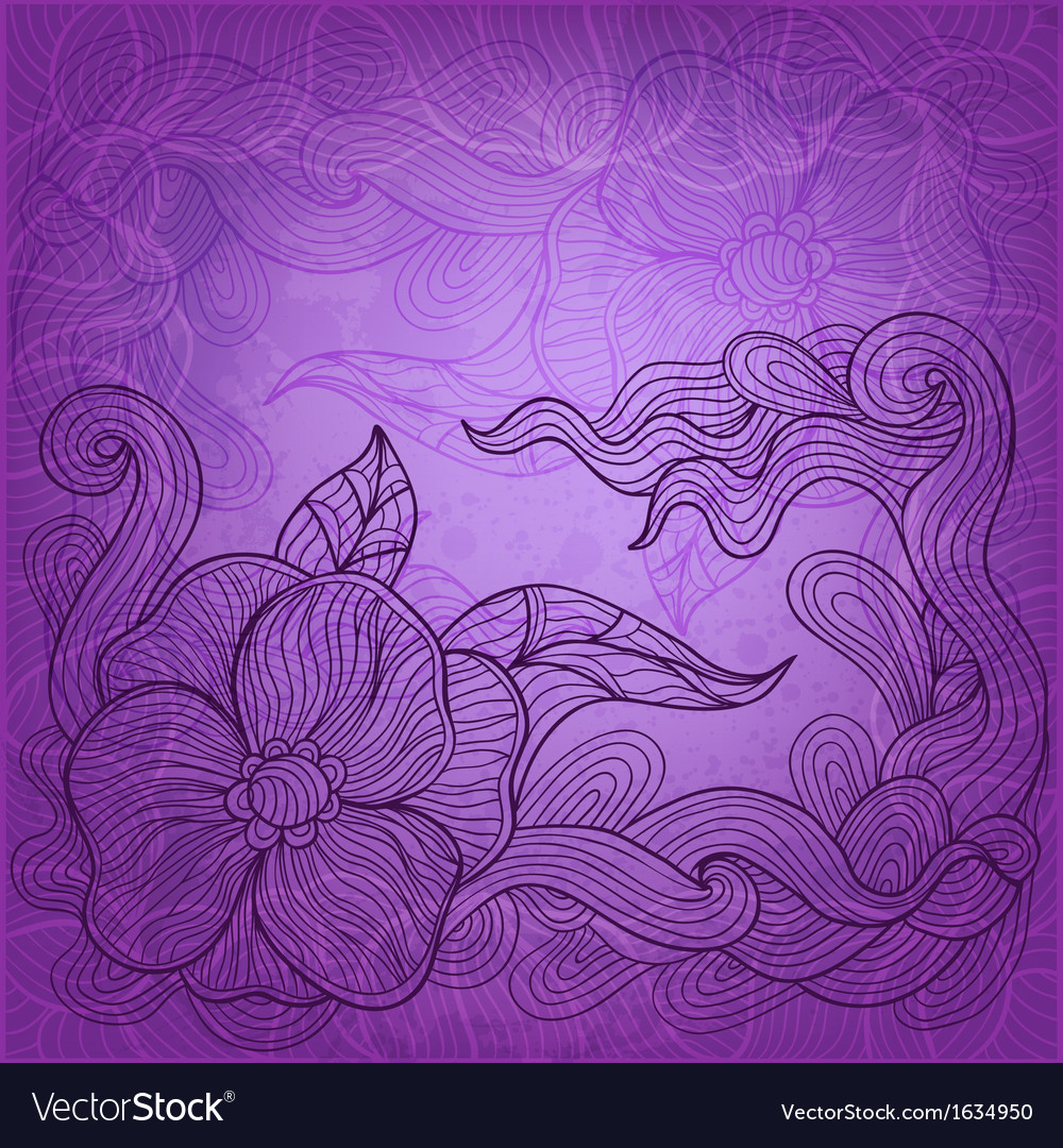 Artistic doodle background vector | Price: 1 Credit (USD $1)