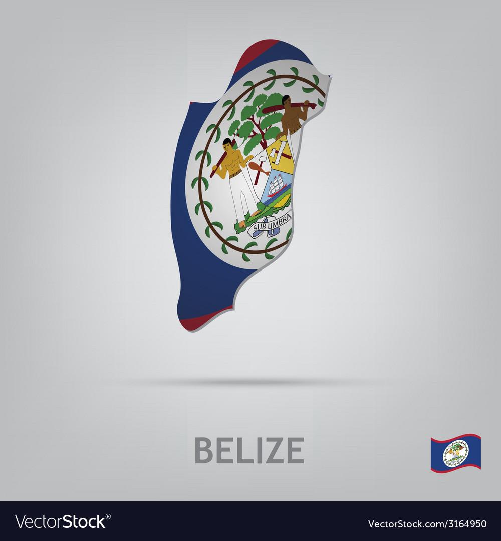 Belize vector | Price: 1 Credit (USD $1)