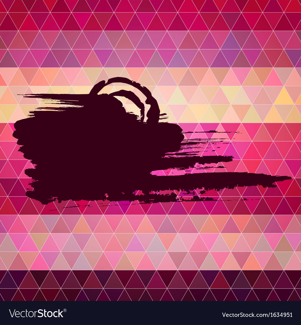 Abstract background polygon style backdrop with an vector | Price: 1 Credit (USD $1)