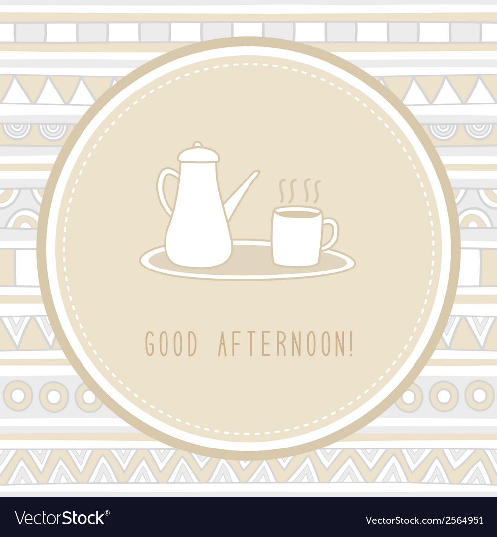 Good afternoon1 vector | Price: 1 Credit (USD $1)