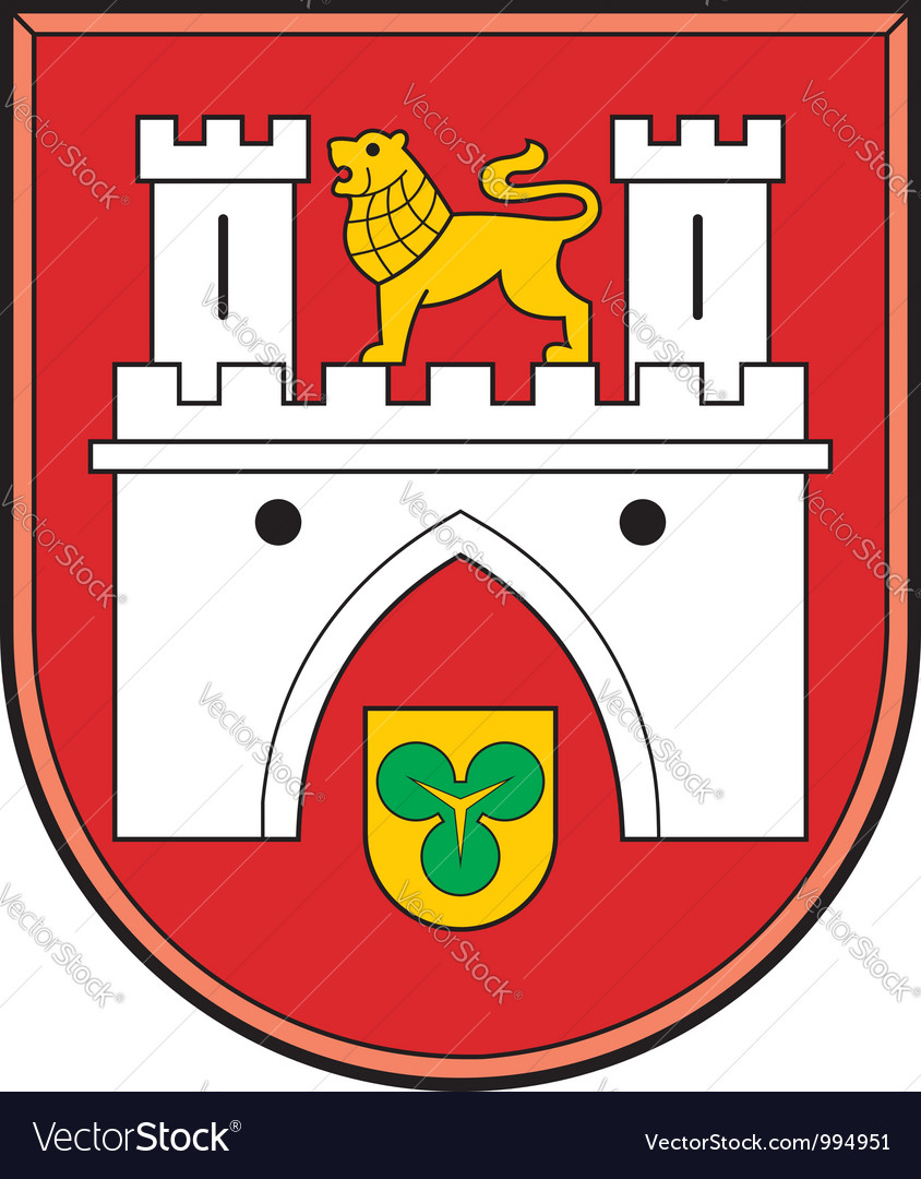 Hannover coat of arms vector | Price: 1 Credit (USD $1)