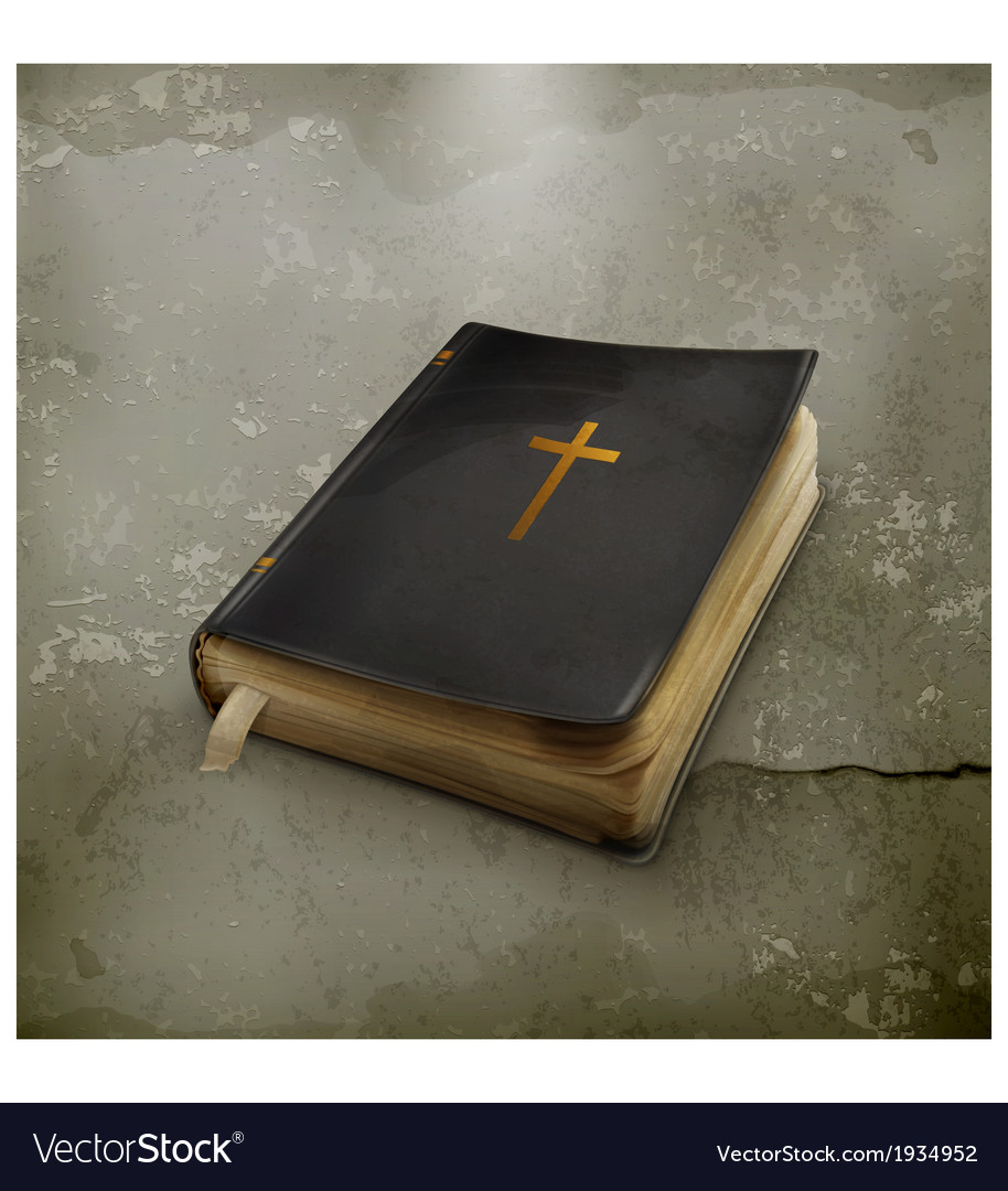 Bible old style vector | Price: 3 Credit (USD $3)