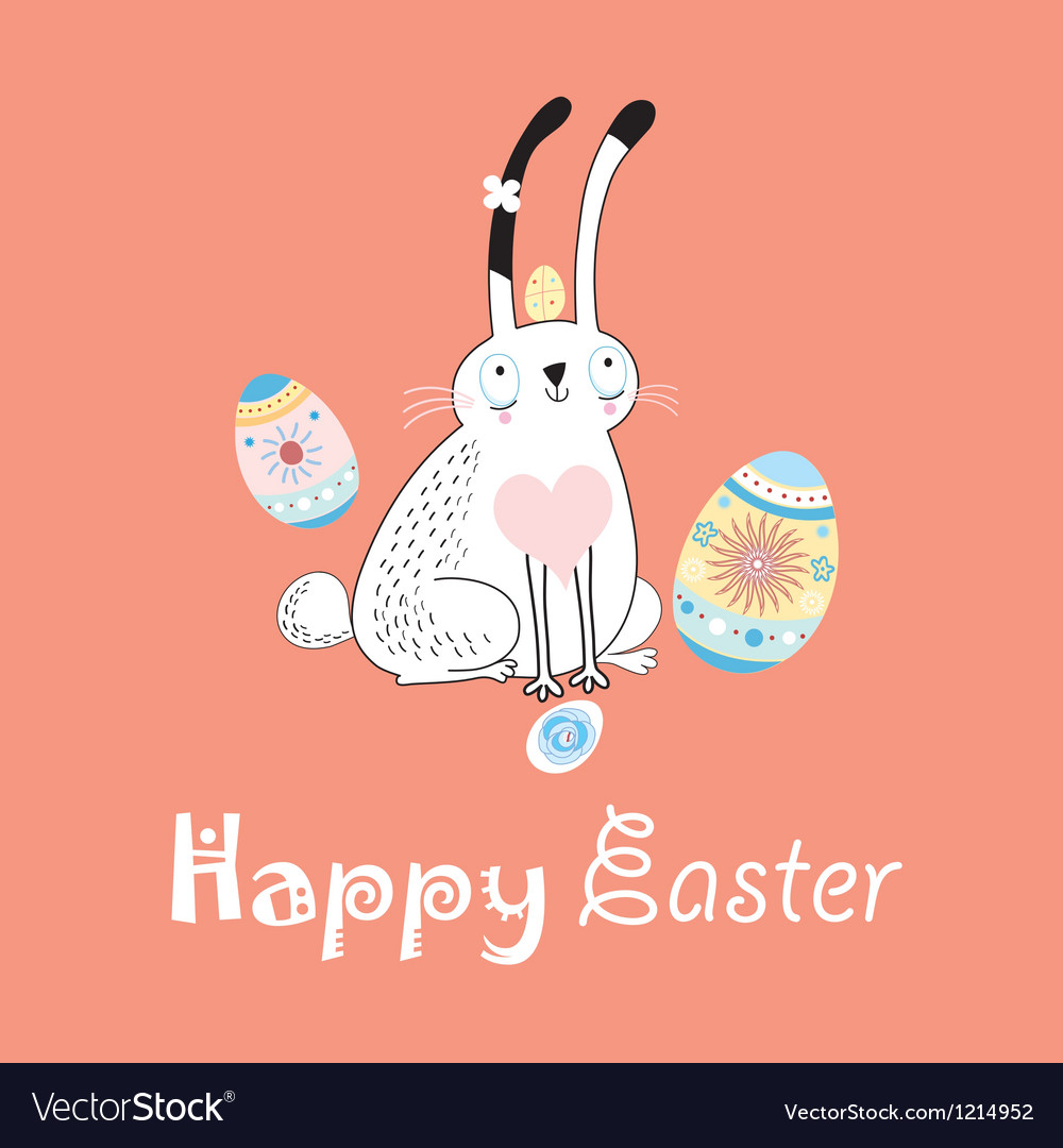 Stok vektor long eared rabbit vector | Price: 1 Credit (USD $1)
