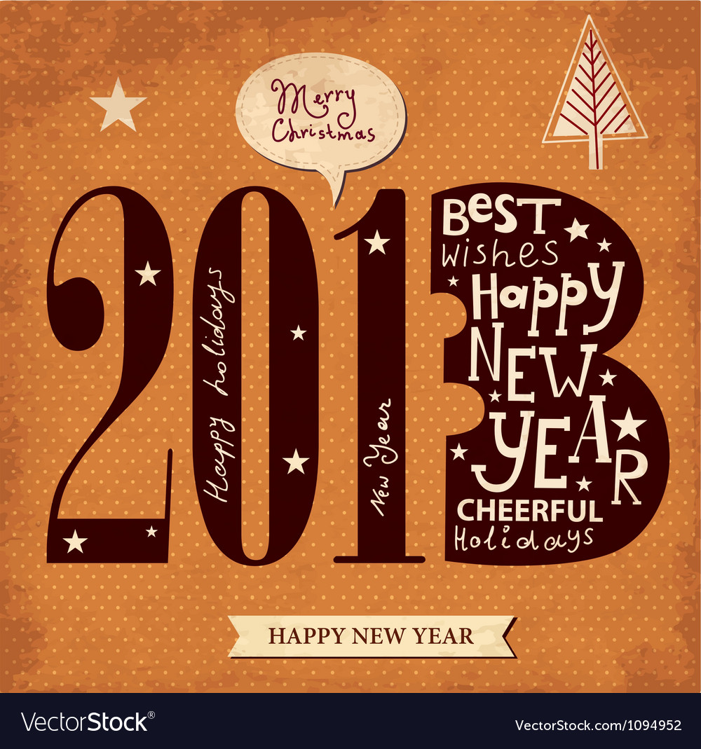 Typographic greeting card vector   Price: 1 Credit (USD $1)