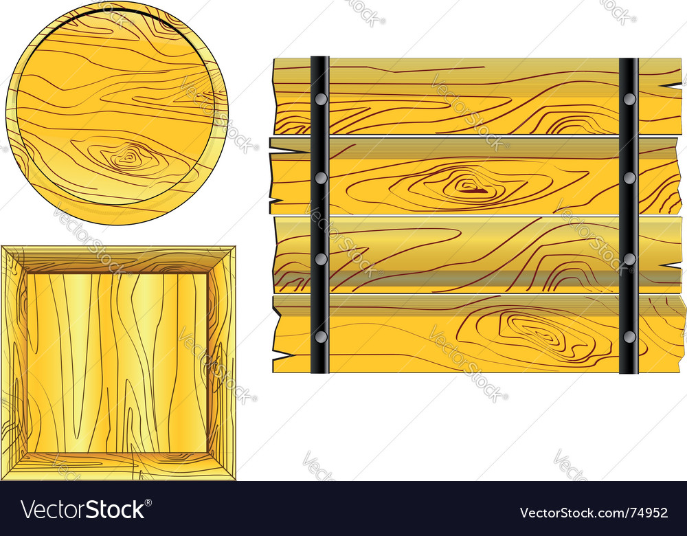 Wood boards vector | Price: 1 Credit (USD $1)