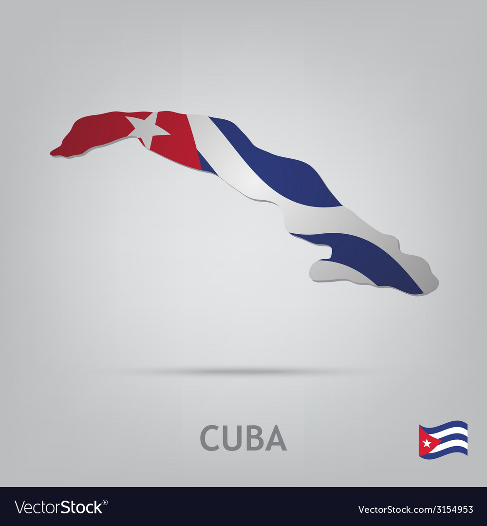 Country cuba vector | Price: 1 Credit (USD $1)