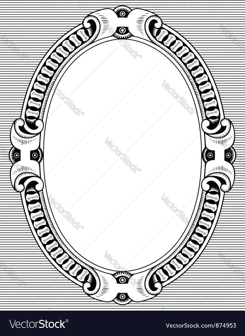 Elegant frame vector | Price: 1 Credit (USD $1)
