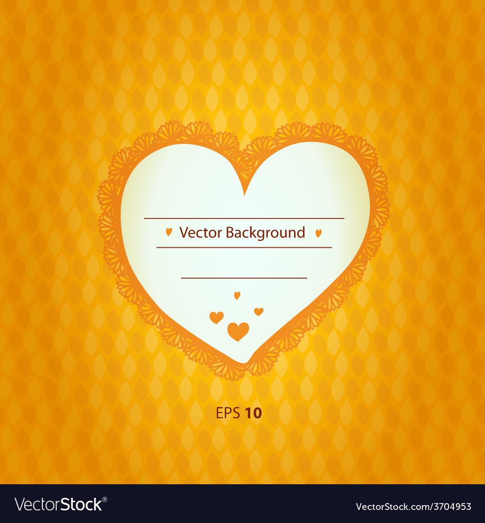 Valentines heart design vector | Price: 1 Credit (USD $1)