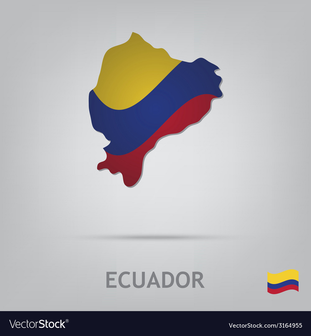 Ecuador vector | Price: 1 Credit (USD $1)