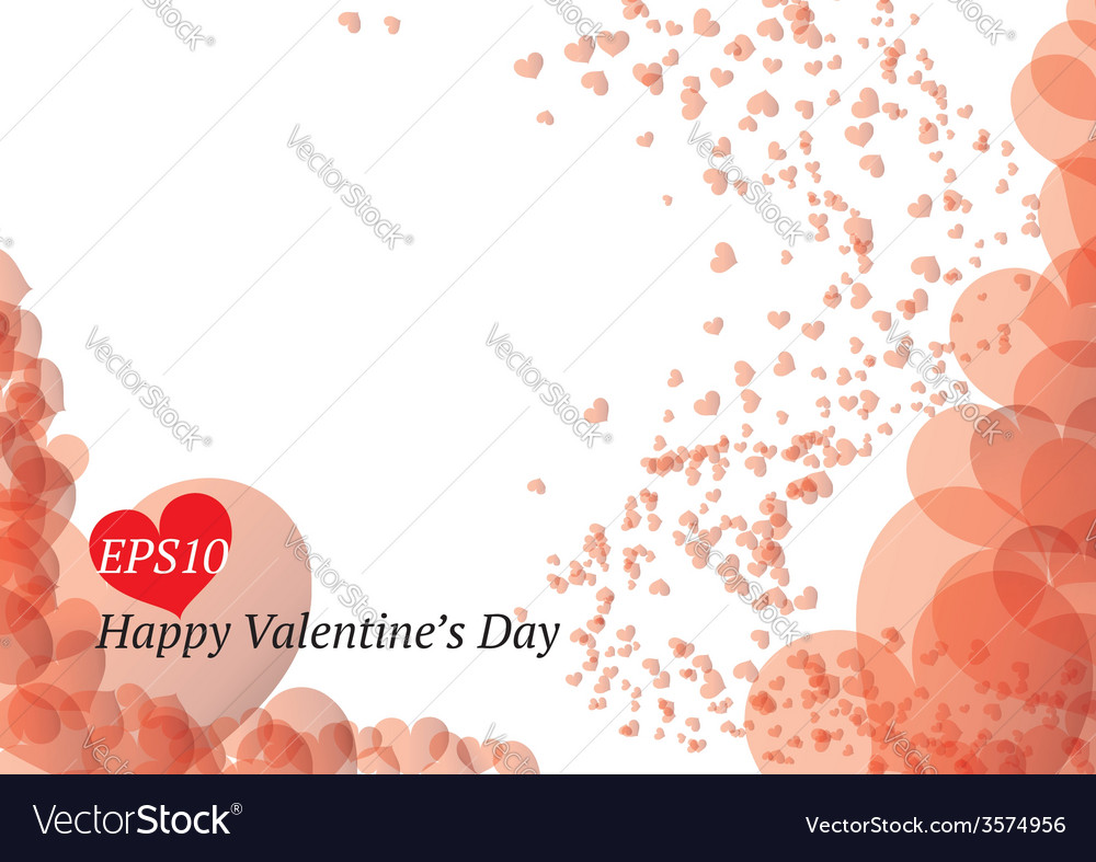 Beautiful valentines day card vector | Price: 1 Credit (USD $1)