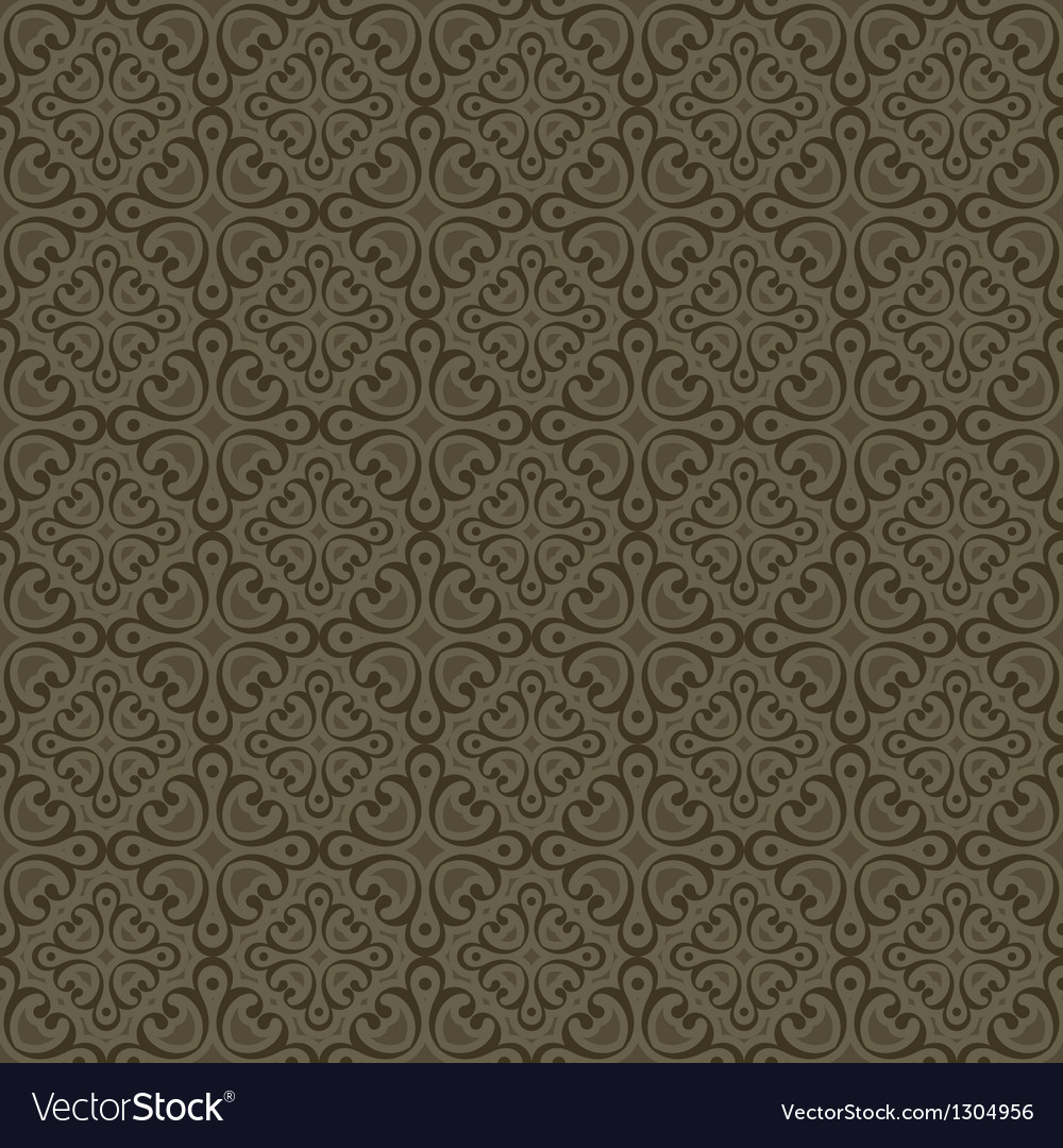 Khaki colors art deco style curve pattern design vector | Price: 1 Credit (USD $1)