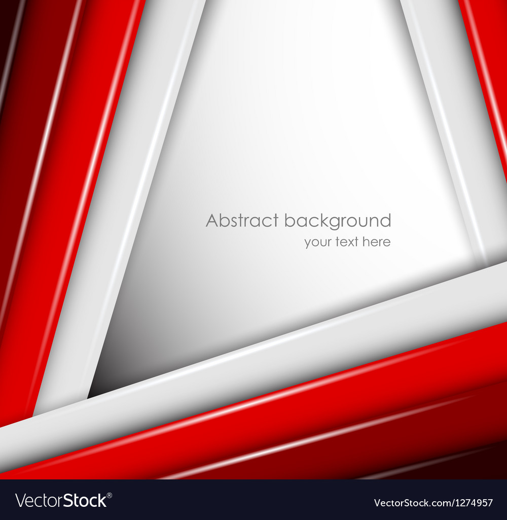 Abstract background with red and gray lines vector | Price: 1 Credit (USD $1)