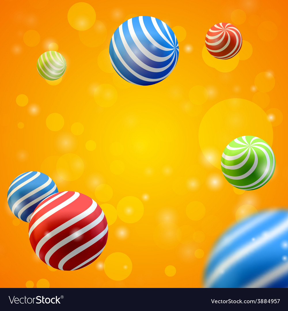 Abstract group of spheres vector | Price: 1 Credit (USD $1)