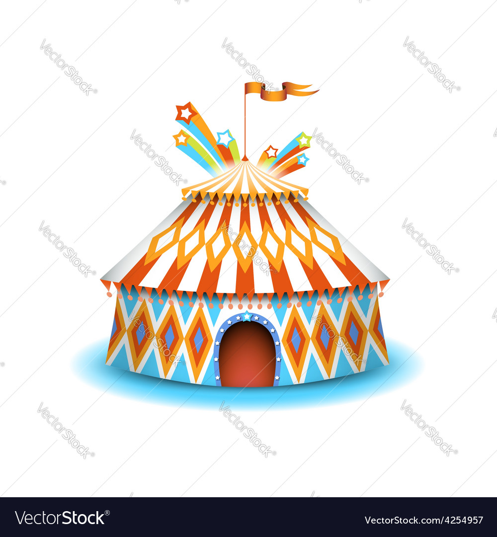 Colorful circus vector | Price: 3 Credit (USD $3)